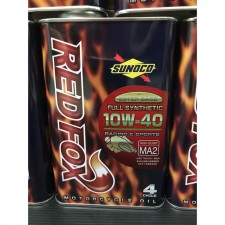 Sunoco Red Fox Full 10W40 Fully Synthetic MA2 Oil