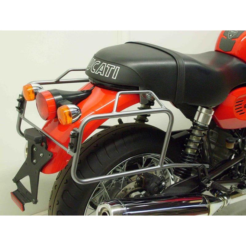 Hepco & Becker 6507950001 Motorcycle Black Pannier Rack for Ducati GT 1000