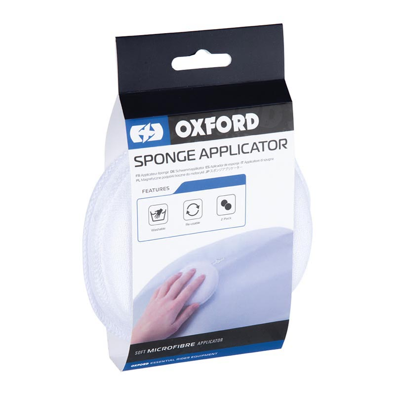 Oxford OX258 Applicator Sponge Twin Pack
