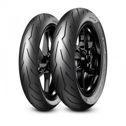 Pirelli 36139 Rosso SPORT 80/90-17 M/C TL 44S Sport Touring Motorcycle Tyre