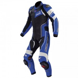 Komine S-49 Raphael Titanium Leather Racing Suit