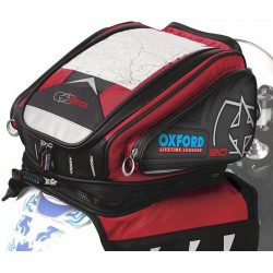 Oxford OL127 2014X30 Red Magnetic Motorcycle Tank Bag
