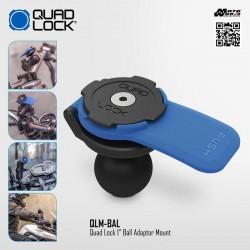 "Quad Lock QLM-BAL 1"" Ball Adaptor Mount"