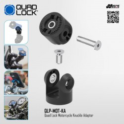 Quad Lock QLP-MOT-KA Motorcycle Knuckle Adaptor