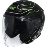 Trax TG263 Open Face Motorcycle Helmet - PSB Approved