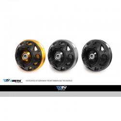 DMV DIFAS3DYA08K Black 3D Front Axle Slider