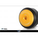 DMV DIFASSU06DIFRASROK Black Front Axle Slider Roll
