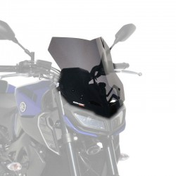 Ermax 010101060 Touring Screen 38Cm for MT09/FZ9 17-20 Grey