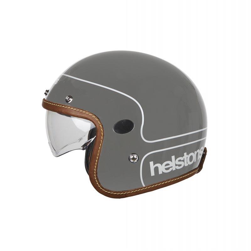 Helstons Corporate Carbon Classic Motorcycle Helmet