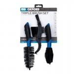 Oxford OX738 Triple Brush Set