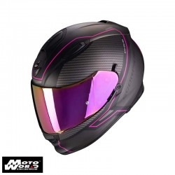 Scorpion EXO 510 Air Frame Matt Black Pink Full Face Motorcycle Helmet S