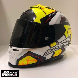 Scorpion EXO R1 Air Replica Alvaro Sbk Full Face Motorcycle Helmet