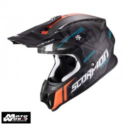 Scorpion EXO VX16 Air Rok Replica II Off Road Motorcycle Helmet