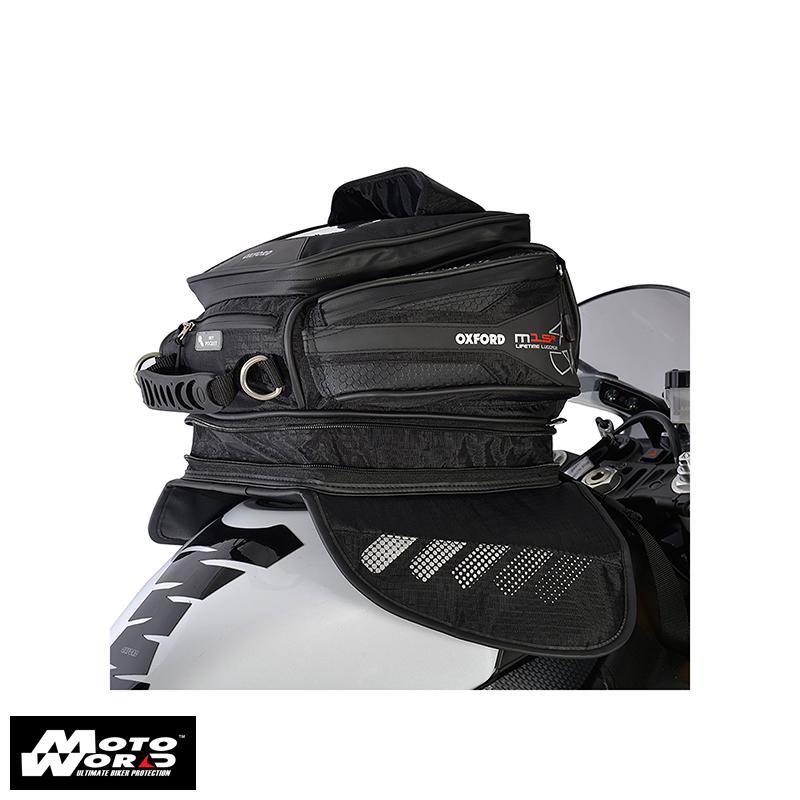 Oxford OL221 Black M15R Motorcycle Tank Bag