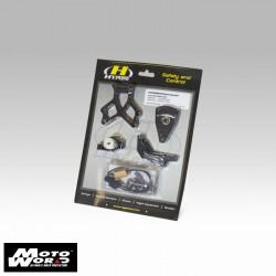Hyperpro MKBM12O004B Black Mounting Kit for BMW R1200 RT/GS/GSA 2014