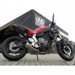 Hyperpro SBHO050AAAH Streetbox for Honda CB500X 13-15