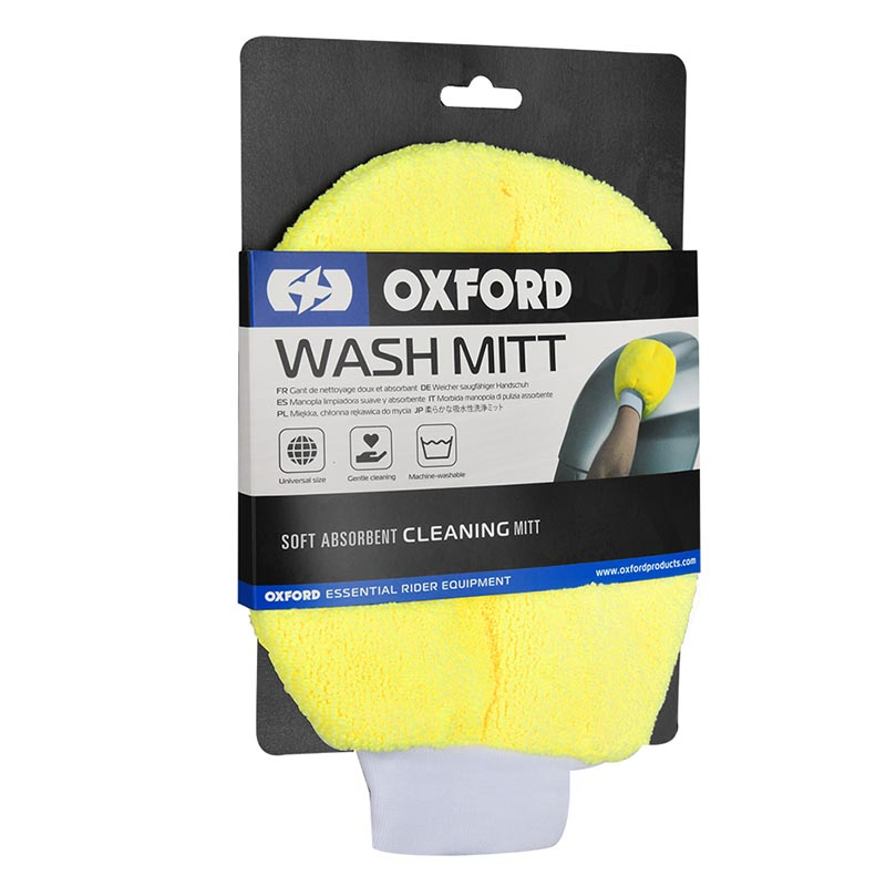 Oxford OX254 Wash Mitt Yellow