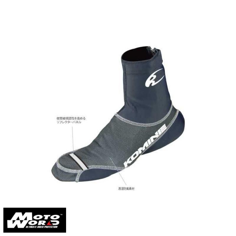 Komine AKC302L Windproof Shoe Cover