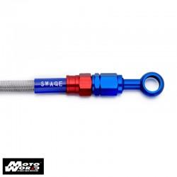 Plot Bsys Hose PT SAR143 for Honda CBR1000RR 04-05 Aluminium Rear Fittings