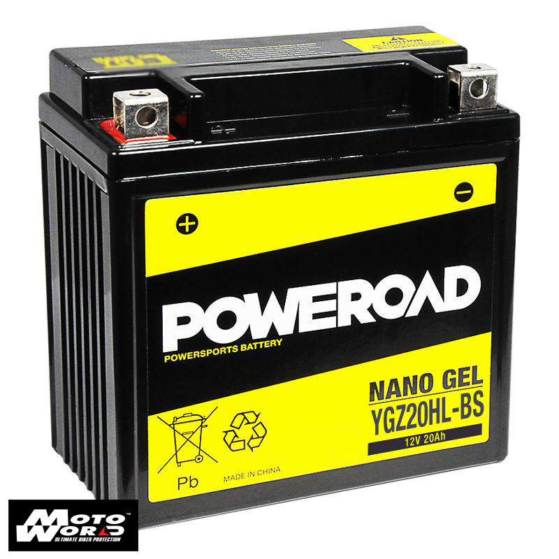 Poweroad YGZ20HLBS Nano Gel Battery