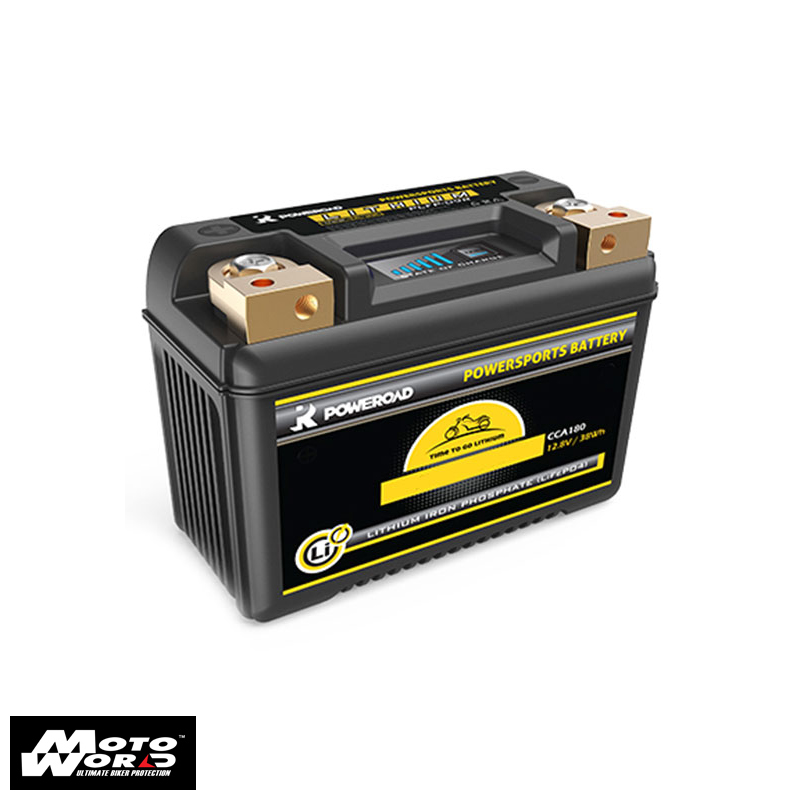 Poweroad YPLFP-14BR Lithium Motorcycle Battery