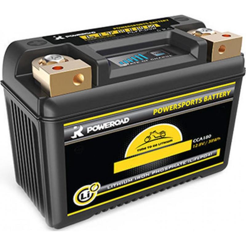 Poweroad YPLFP-18R Powersports Maintenance Free Motorcycle Battery