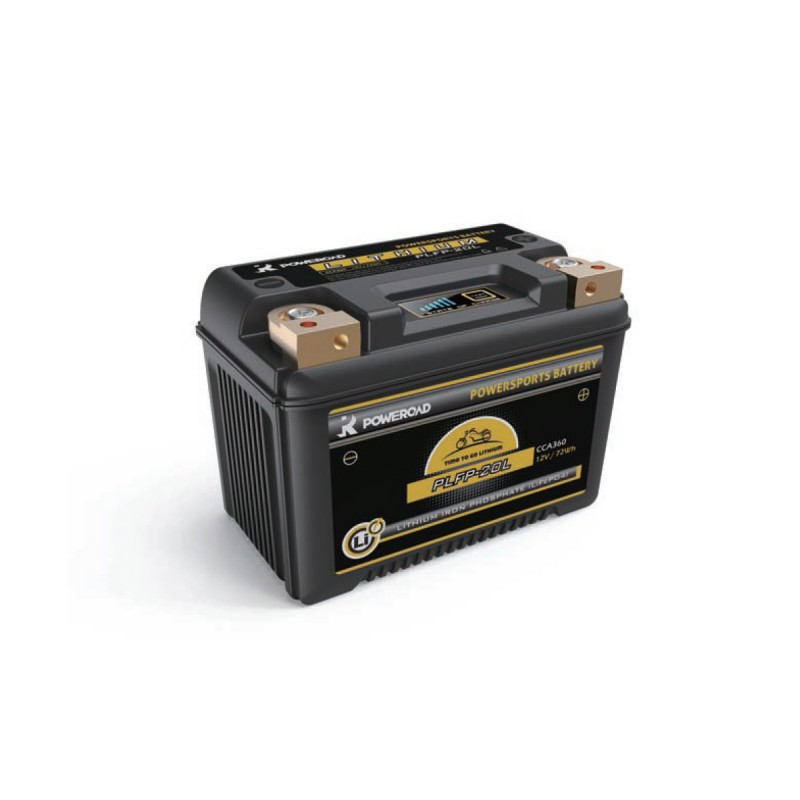 Poweroad YPLFP-20L Powersports Maintenance Free Motorcycle Battery