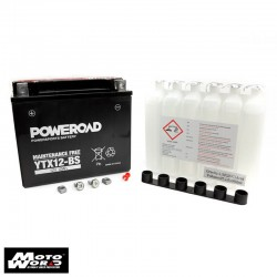 Poweroad YG12B-4 Maintenance Free Motorcycle Battery