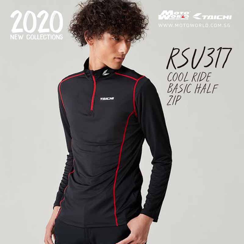 Rs Taichi RSU317 Cool Ride Basic Half Zip