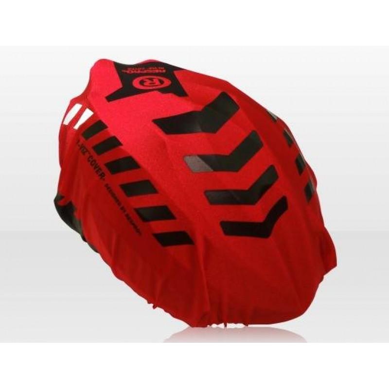 Respro Hi-Viz Red Helmet Cover