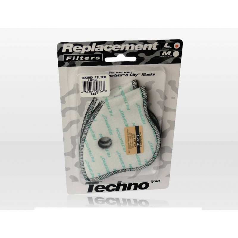 Respro Techno Filter Twin Pack