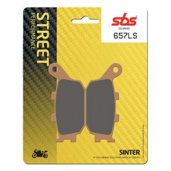 SBS 657LS Rear Sinter Brake Pad for Yamaha YZFR1 04