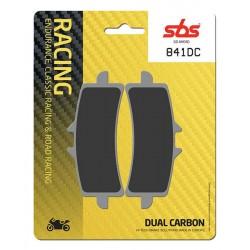 SBS 841DC Front Dual Carbon Brake Pad for Ducati 1098