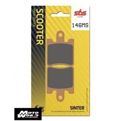 SBS 146MS Rear Sinter OE Replacement Break Pad