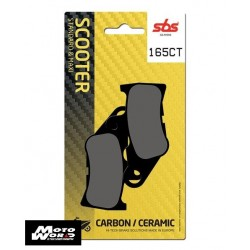 SBS 165CT Rear Carbon OE Replacement Break Pad