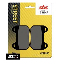 SBS 746HF Rear Ceramic OE Replacement Break Pad
