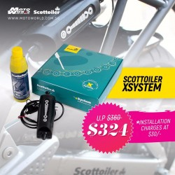 Scottoiler SO8020 XSystem Electronic Chain Oiler Kit with High Temperature