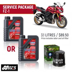 Liqui Moly FZ-1 Race Service Package