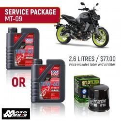 Liqui Moly MT-09 Race Service Package