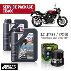 Liqui Moly CB400 Street Service Package