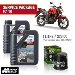 Liqui Moly FZ16 Street Service Package