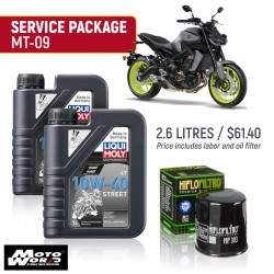 Liqui Moly MT-09 Street Service Package