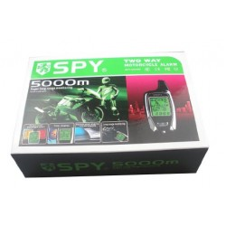 SPY LM212 2 Way 5000m Motorcycle Alarm with Remote Start