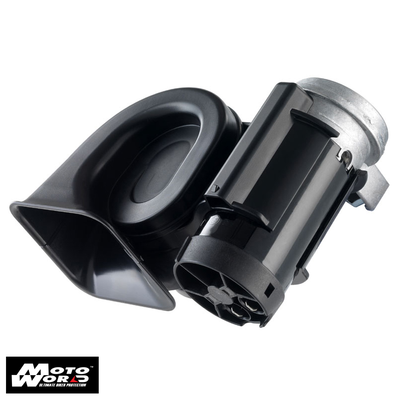 Nautilus X HORN STEBEL Compact low frequency - highway truck sound - Horn 12 Volt - Black