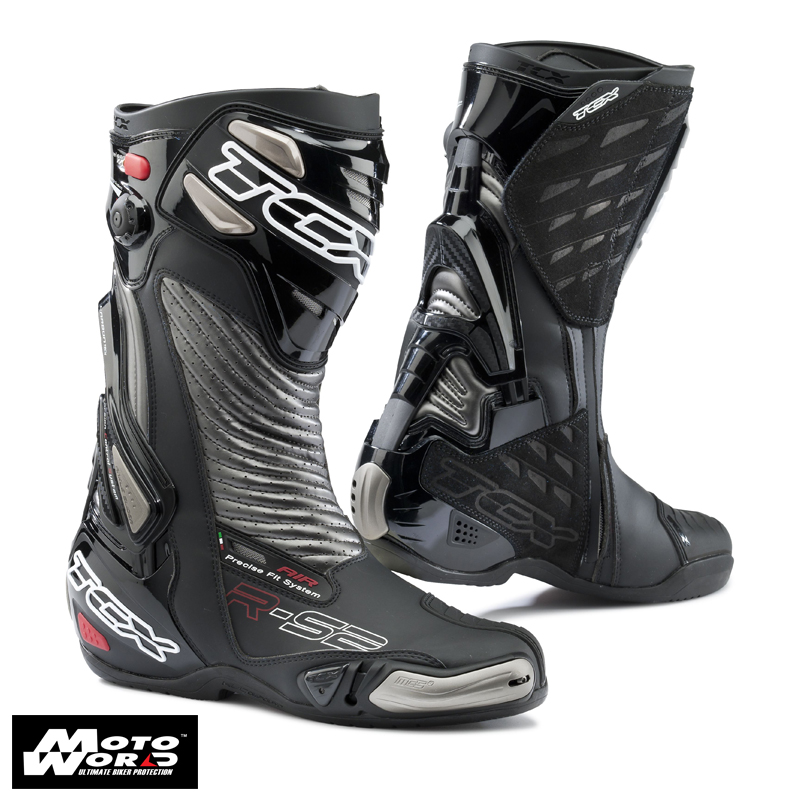 TCX 7616 R-S2 Evo Sports Racing Boots Black/Graphite