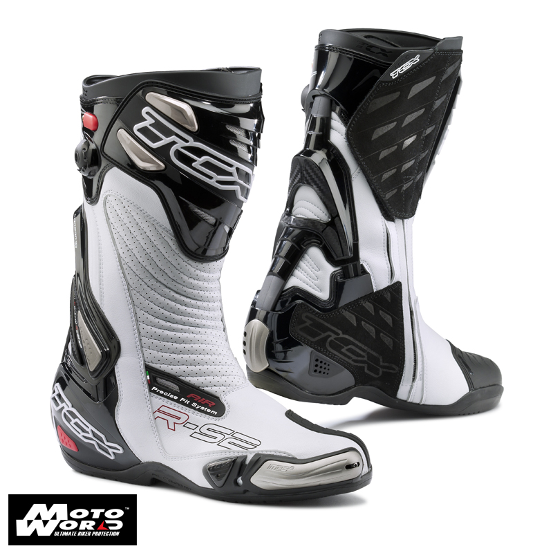 TCX 7617 R-S2 Evo Sports Racing Boots - White/Black