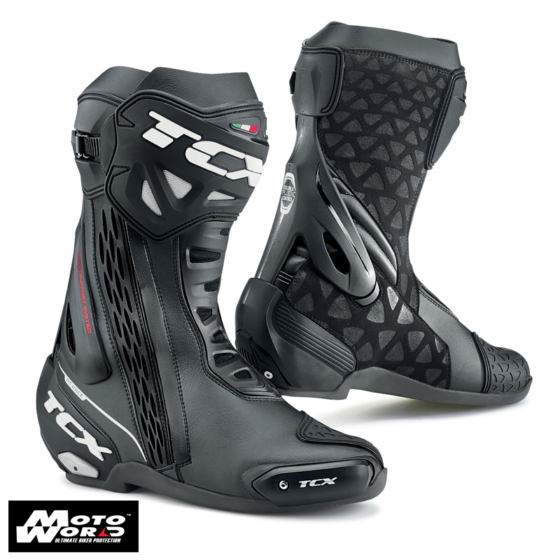 TCX 7655W RT-Race Waterproof Boots - Black