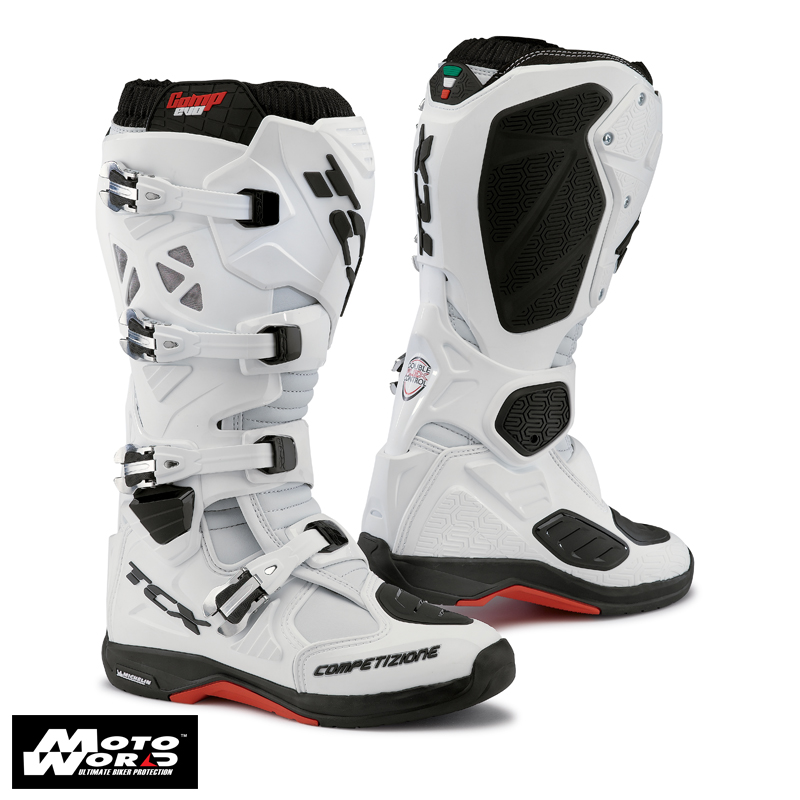 TCX 9661 Comp EVO Michelin Boots White