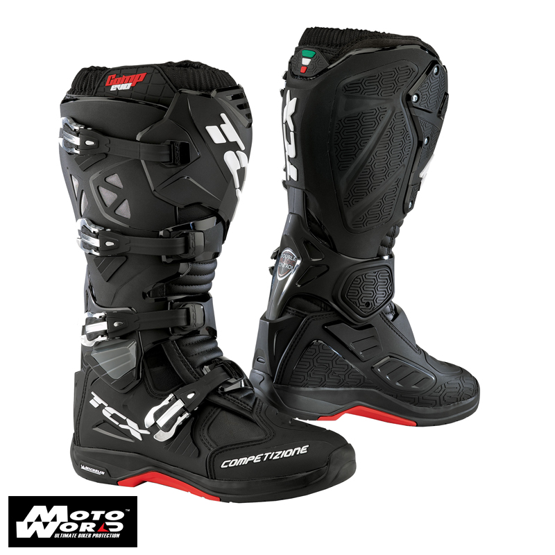 TCX 9661 Comp Evo Michelin Boots-Black
