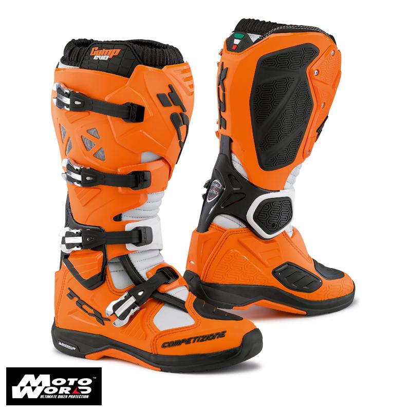 TCX 9661 Comp EVO Michelin Boots Black/Orange